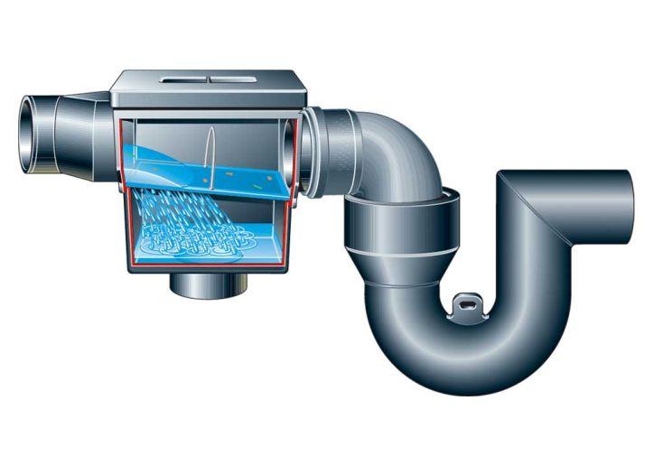 Kit cuve recuperateur eau enterree 4500 L