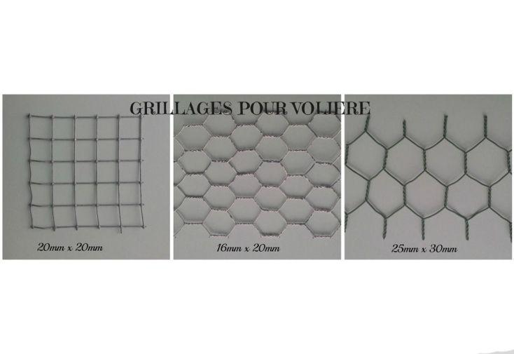 Modèles de grillages disponibles