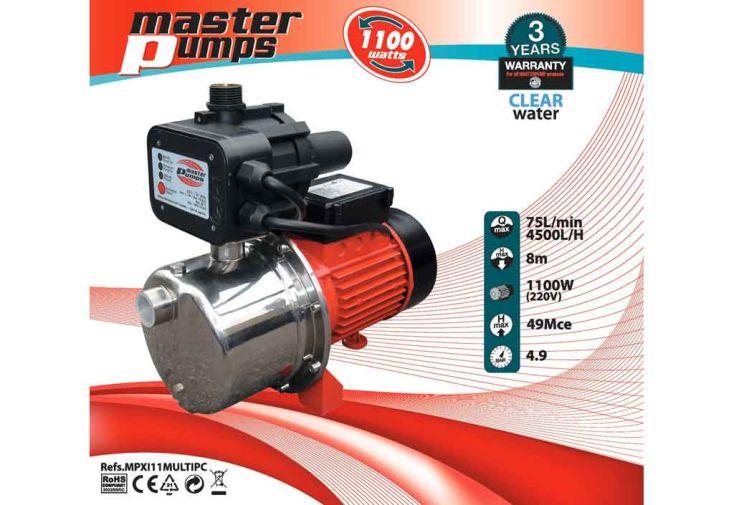 Groupe Hydrophore Electronique 1100 w-6000 l/h