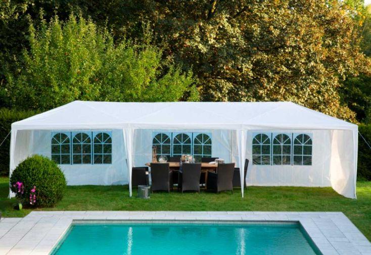tente de reception pulicaria 3x9 tente de r ception 3x9 reception. Black Bedroom Furniture Sets. Home Design Ideas