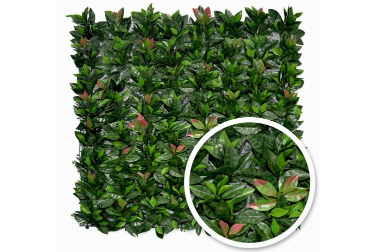 haie artificielle photinia france green made in france