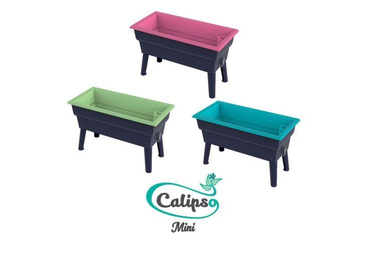 Jardinière Calipso Mini 40L Double Paroi + Réserve d'Eau H50cm