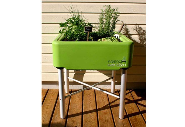 Carré Potager sur Pieds Classic Vert French Garden