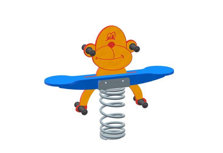 jeu à bascule enfant jeu sur ressort Sapekor singe