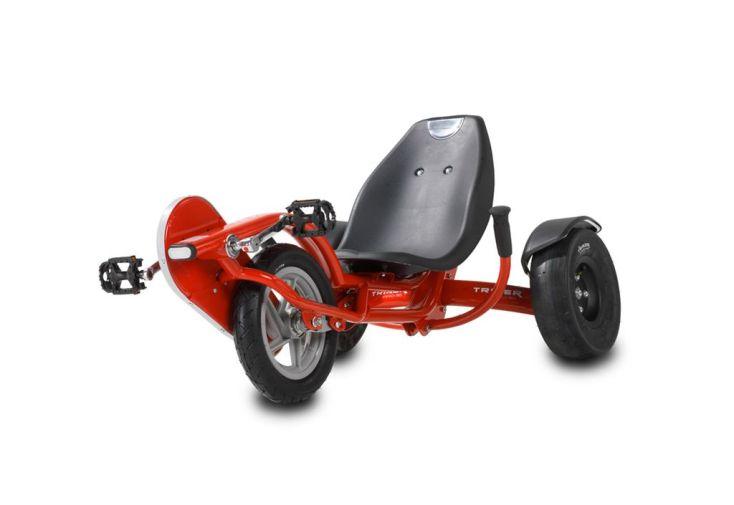 Kart à Pédales Tricker Pro 50 Rouge