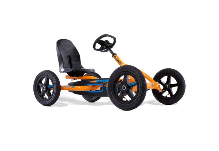 kart à pédale Berg en métal avec 4 roues à air