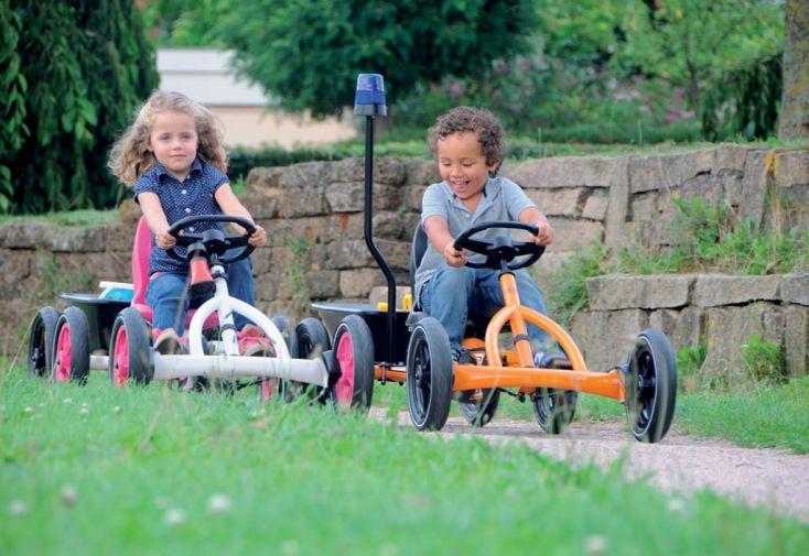 Kart à Pédales Berg Junior Buddy White