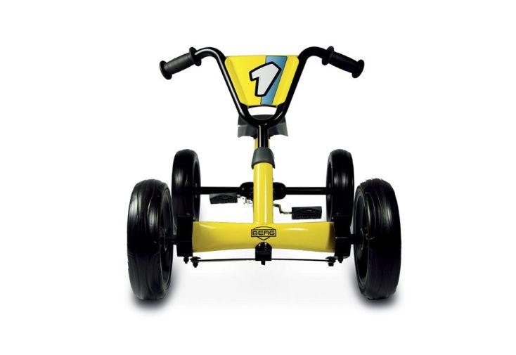 Kart à Pédales Berg Direct Drive Buzzy Jaune