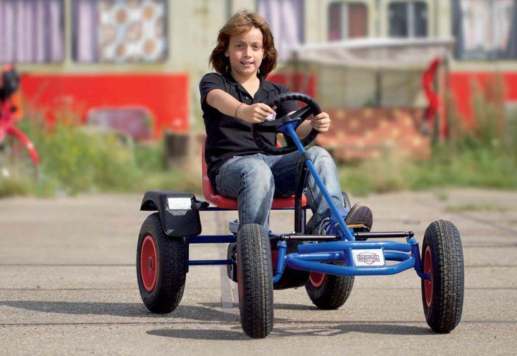 Kart à Pédales Berg Extra AF Bleu