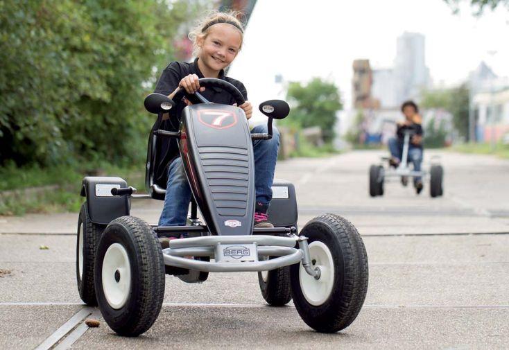 Kart à Pédales Berg Extra AF Sport Argent