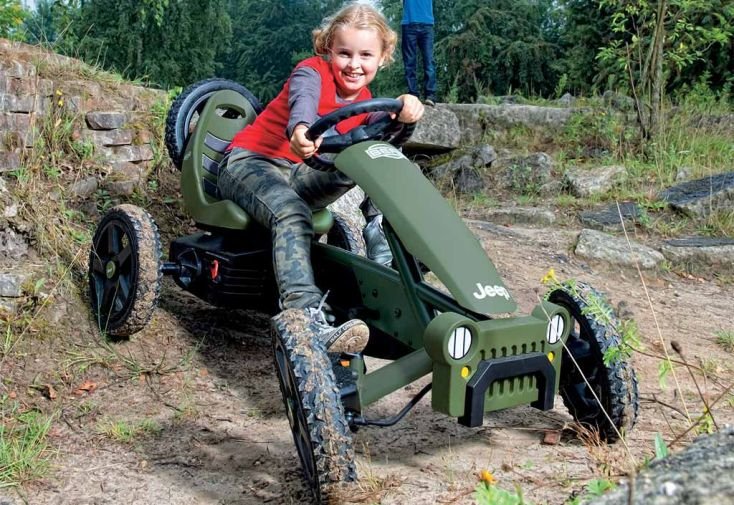 Kart à Pédales Berg Jeep Adventure Pedal Go-Kart