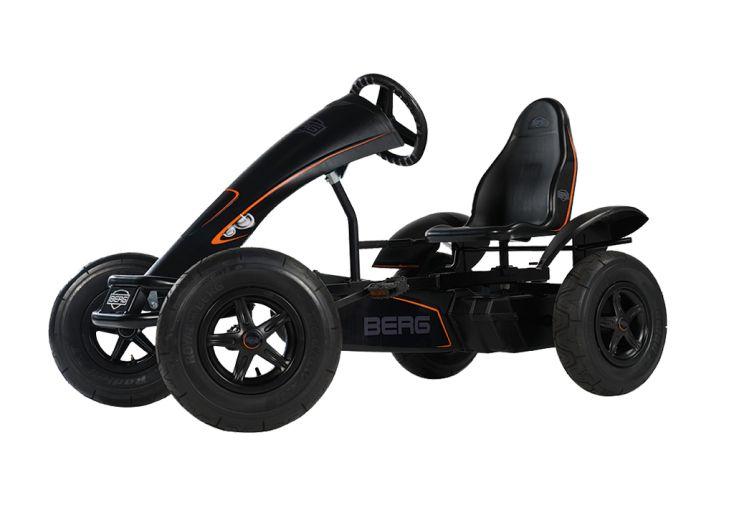 Kart à Pédales Berg Black Edition BFR Noir Profil