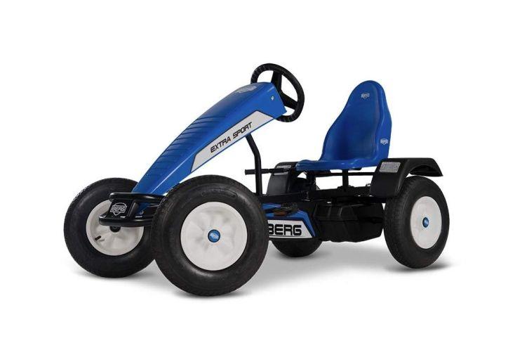kart à pédales bleu pour enfant et adulte Berg à partir de 5 ans
