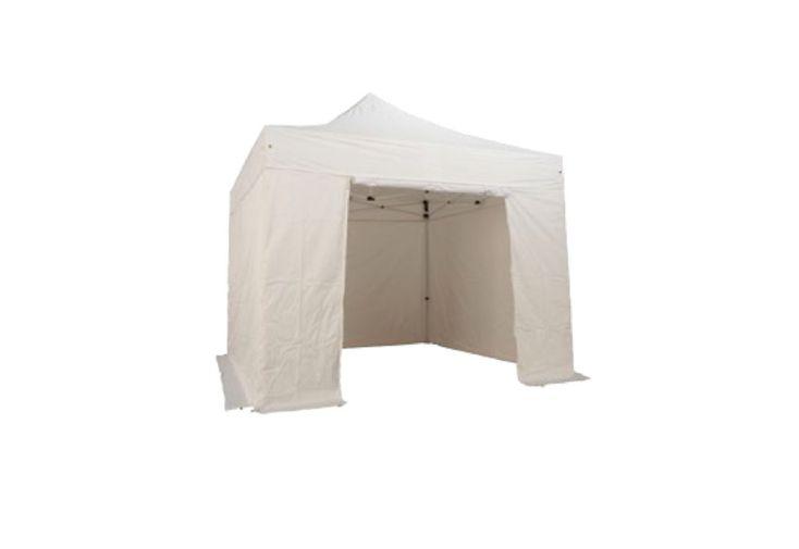 Kit 4 murs avec porte pvc 320 gr m pour tente pliante 3x3 alu et acier kit - Kit pour porte pliante ...
