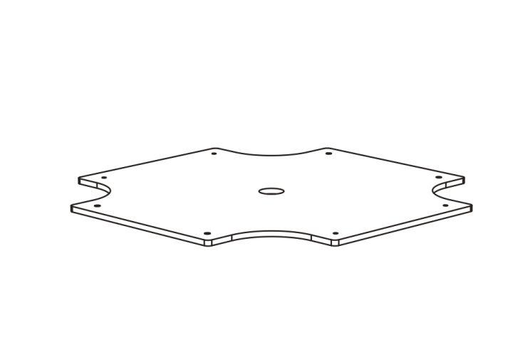 Kit d'alourdissement pour base de parasol Infina Umbrosa