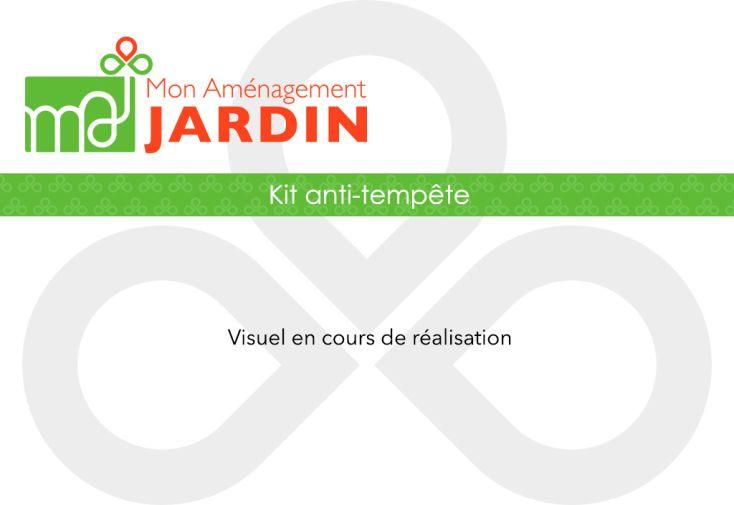 Kit anti-tempête pour abri de jardin en composite Green Outside