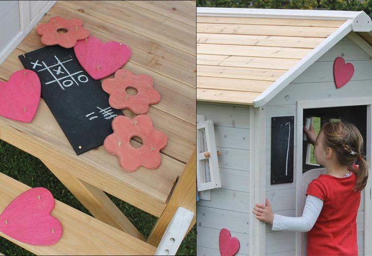 Kit de Décoration Girly pour Maison en Bois Beach