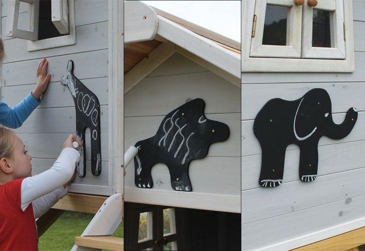Kit de Décoration Safari pour Maison en Bois Beach