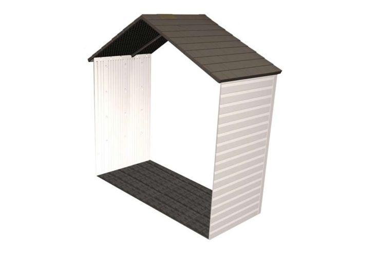 Kit d'extension pour abris de jardin PVC 6406/60015/6418/6405/60005