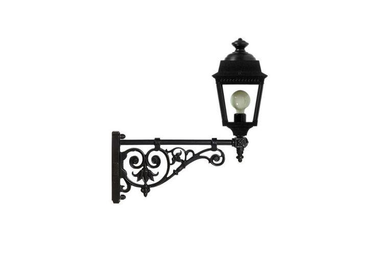 Lanterne Portée Console en Fonte Vermeille Villandry