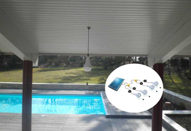 Kit Eclairage Solaire Autonome Ulitium x4