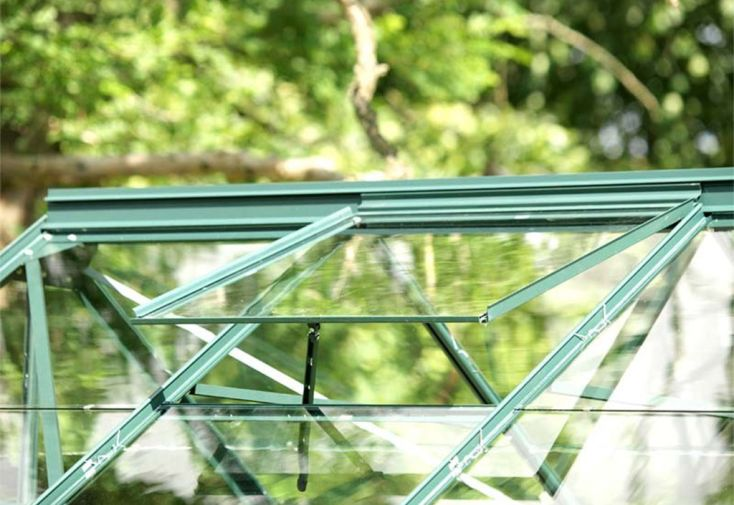 lucarne de toit fenêtre de toit ouverture aération serre lams