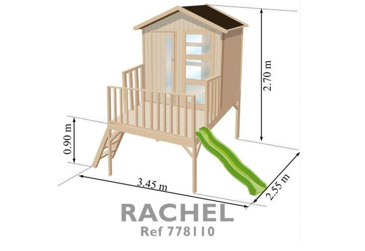 Maison Enfant Bois Rachel