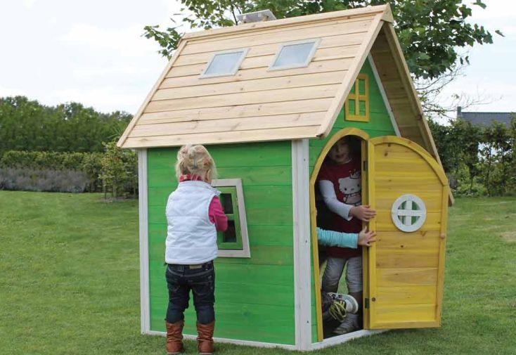 Maison pour Enfant Bois Fantasia Verte