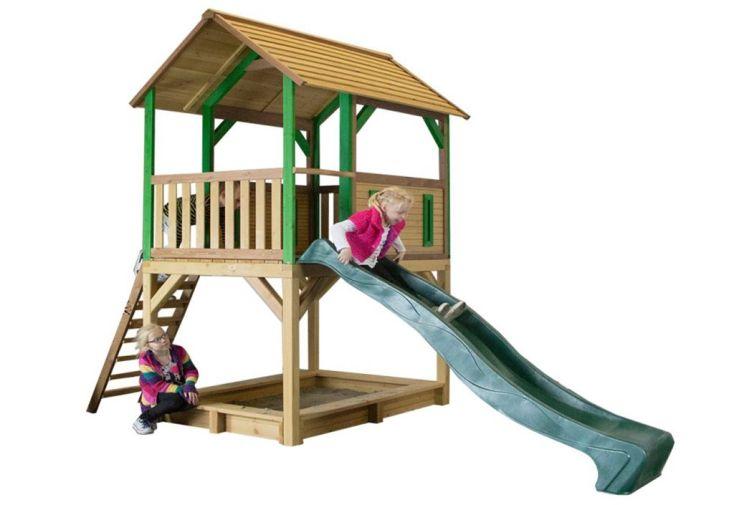 maison enfant bois pumba table pique nique t lescope mur d 39 escalade axi. Black Bedroom Furniture Sets. Home Design Ideas