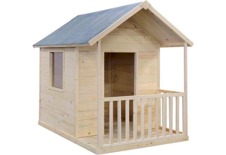 maison enfant bois lapinou jardipolys maisonnette ou. Black Bedroom Furniture Sets. Home Design Ideas