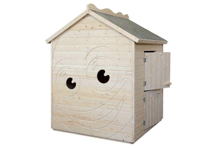 Maison Enfant Bois Néon 12mm  (132x130x167cm)