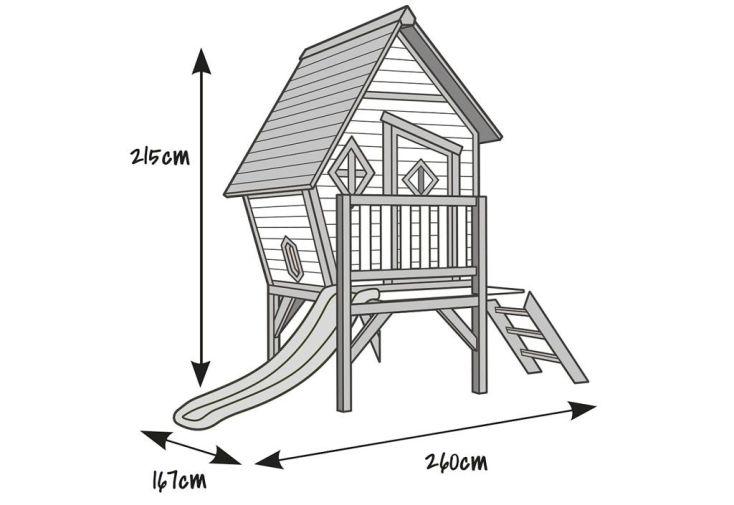 Maison pour Enfant Bois Cabin XL