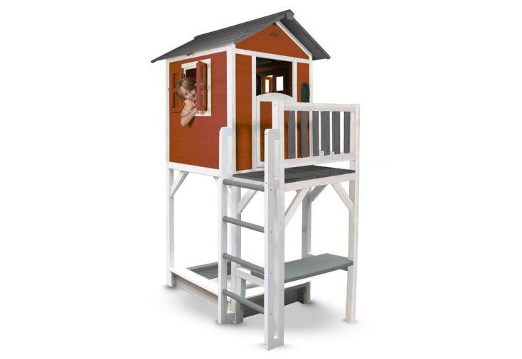 Maison pour Enfant Bois Lodge XXL Plus Colorée