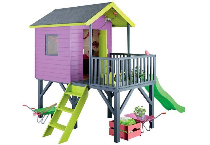 Maison Enfant Bois Pumba + 12mm  (324x239x243cm)
