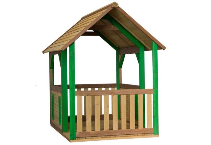 Maison enfant bois cabane forest axi for Cabane exterieur bois