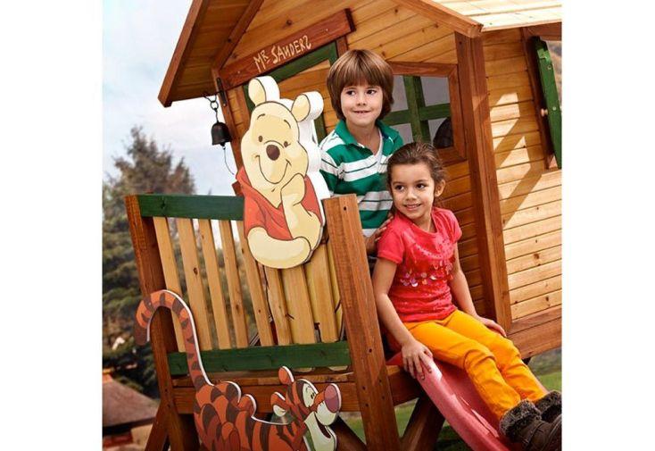 Maison Enfant Bois Winnie L'Ourson