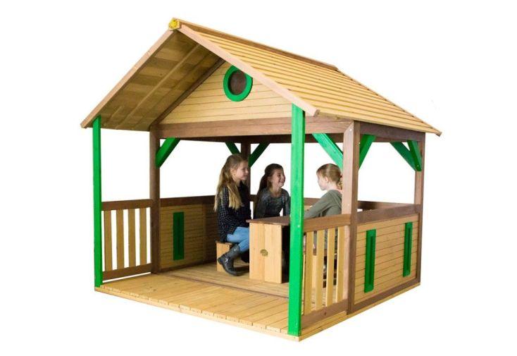 Maison Enfant Bois Cabane Zazou
