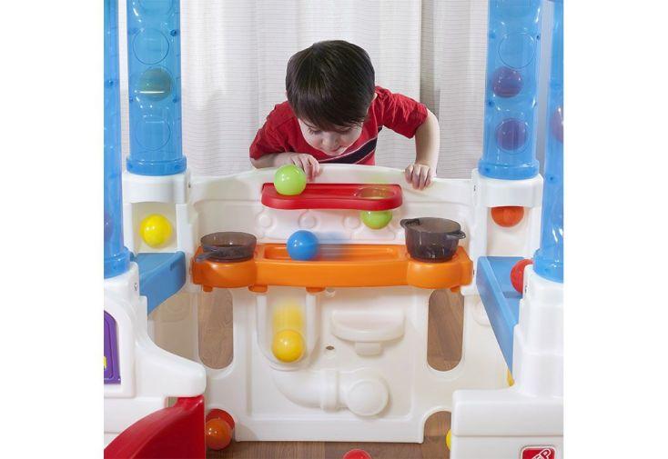 Maisonnette enfant en plastique wonderball fun house step2 - Maison enfant plastique ...