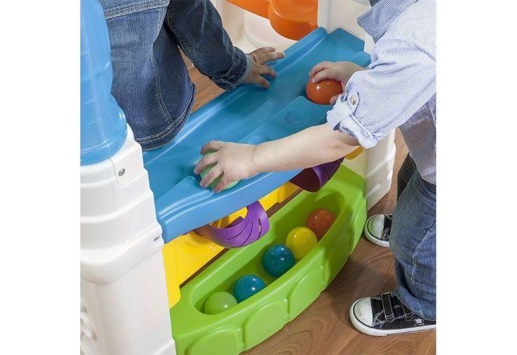 Maisonnette enfant en plastique wonderball fun house step2 - Maison enfant en plastique ...