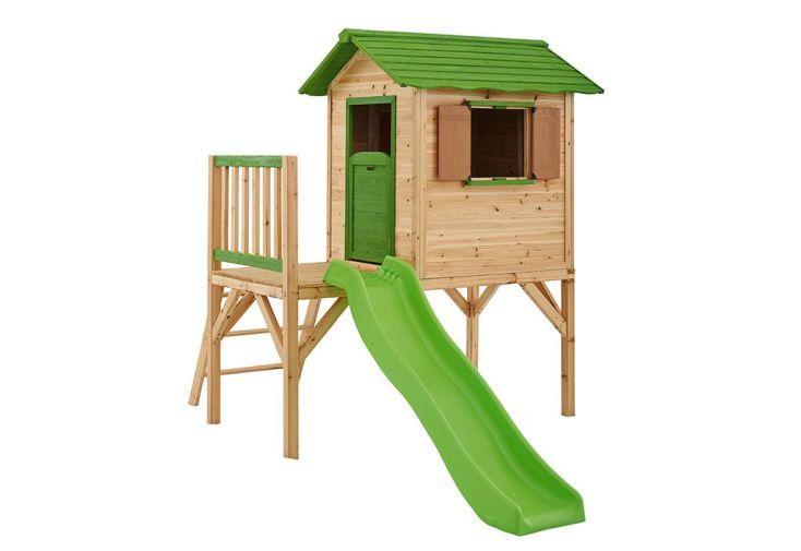 Maison Enfant Bois Mila sur Pilotis