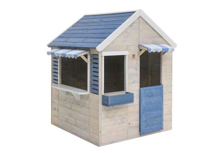 Maisonnette pour enfant en bois traité Wendi Toys Delfin