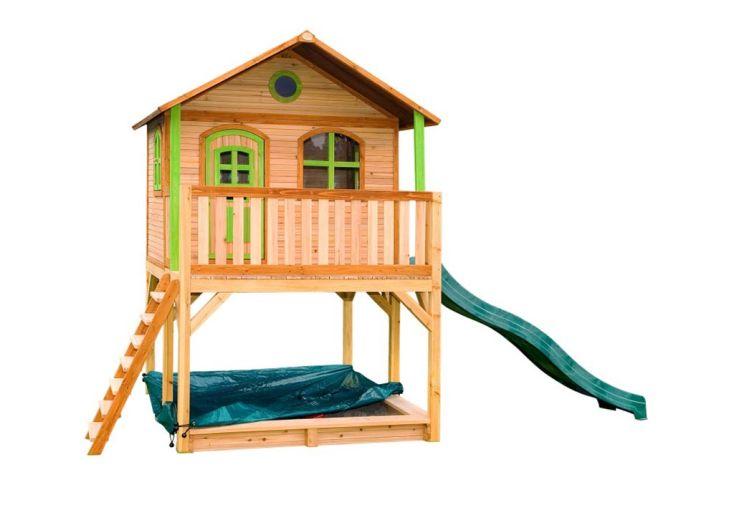 maisonnette pour enfant en bois de hemlock axi marc