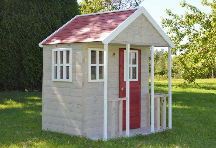 Maisonnette pour enfant en bois traité Wendi Toys Renard cabane en bois pour enfant