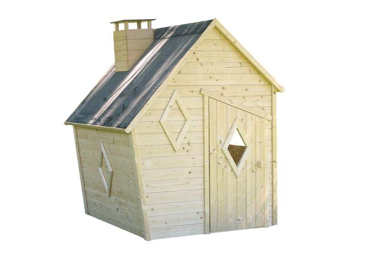 Cabane en bois brut à traiter de Soulet