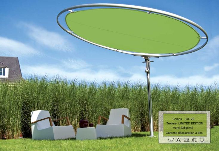 Parasol Eclipse 3.0 Rond Limited Olive