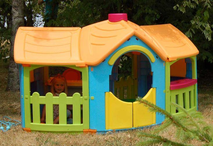 Maison Enfant Plastique Grande Villa