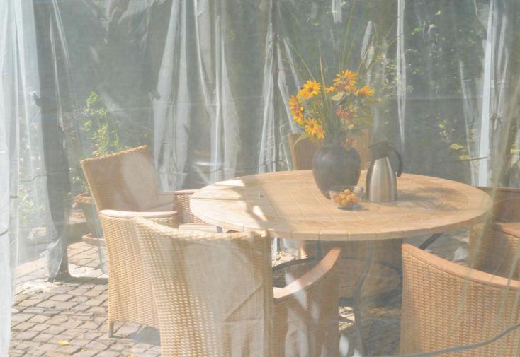 Set 2 Moustiquaires pour Tonnelles Design Aluminium 300 et 360