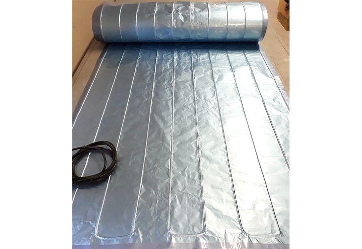 Nappe Chauffante en Aluminium Horti-France Largeur 160 cm