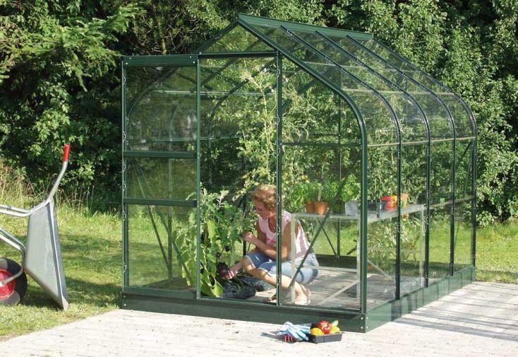 Serre de jardin en verre ORION 5000 Nigella
