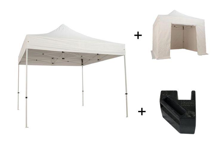Tente de Réception Pliante 3x3 Acier Pack Complet